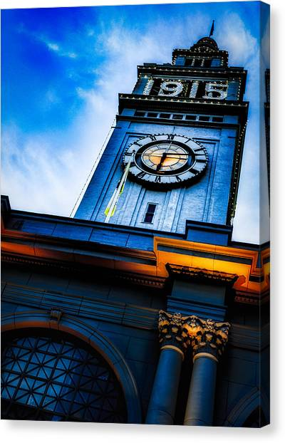 The Old Clock Tower Canvas Print
