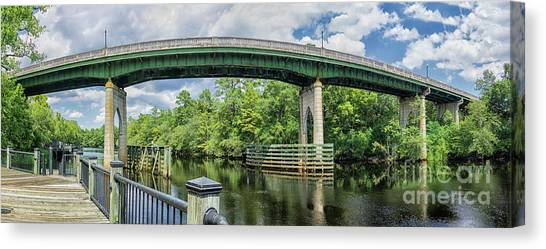 The Old Conway Bridge Canvas Print