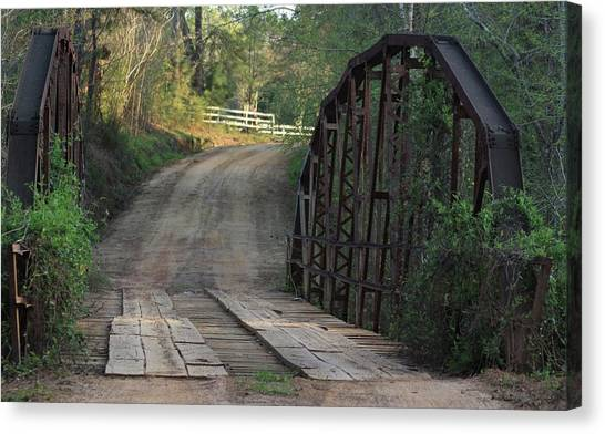The Old Country Bridge Canvas Print