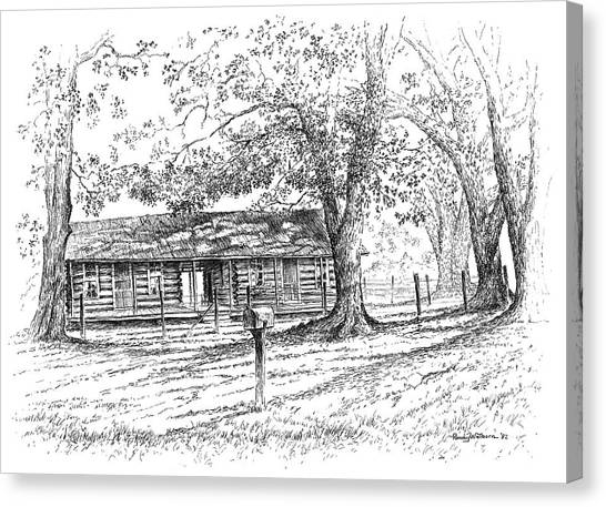 The Old Homeplace Canvas Print