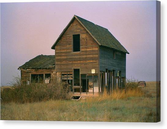The Old Homestead Canvas Print by JoJo Photography