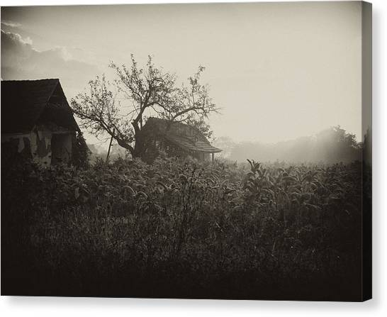 The Old House Canvas Print by Svetlana Peric