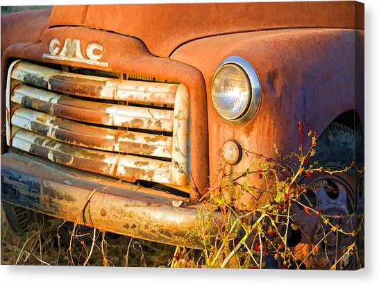 The Old Jimmy Canvas Print by Patricia Stalter