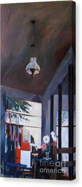 The Old Lamp Canvas Print by George Siaba