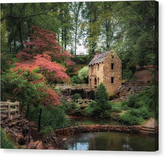 The Old Mill 5x6 Canvas Print
