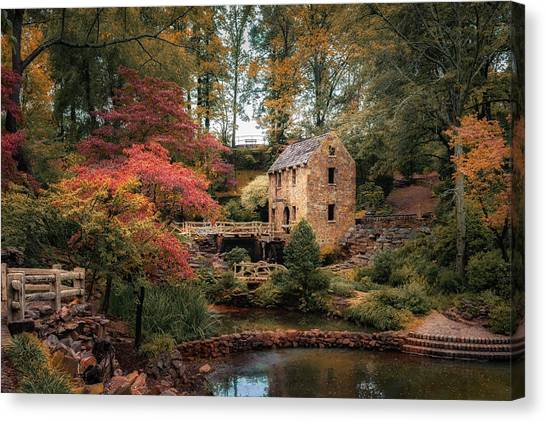 Gone With The Wind Canvas Print - The Old Mill by James Barber