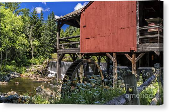 The Old Mill Museum. Canvas Print