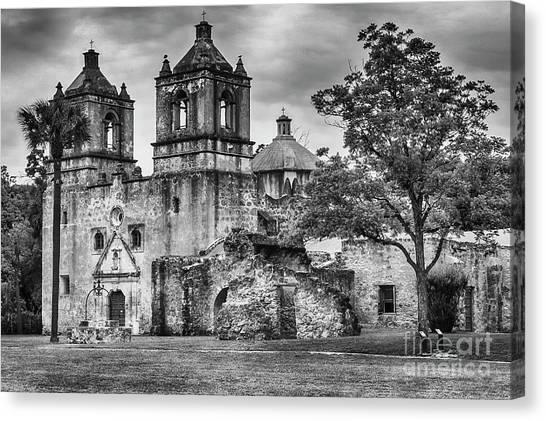 The Old Mission Canvas Print