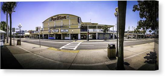The Old Myrtle Beach Pavilion Canvas Print