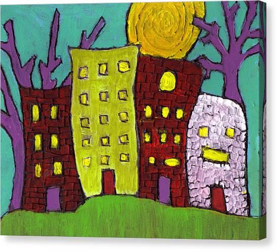 The Old Neighborhood Canvas Print