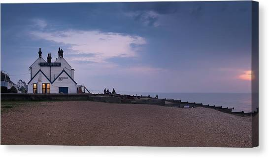 Neptune Canvas Print - The Old Neptune Whitstable by Ian Hufton