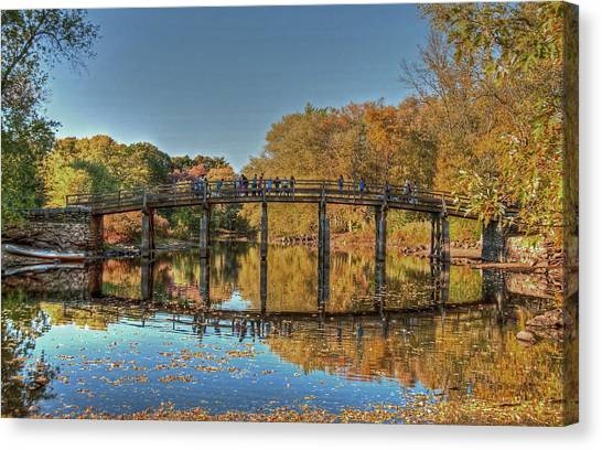The Old North Bridge Canvas Print