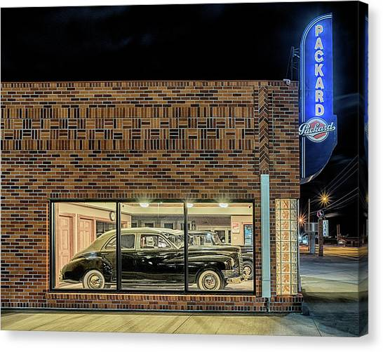 The Old Packard Dealership Canvas Print