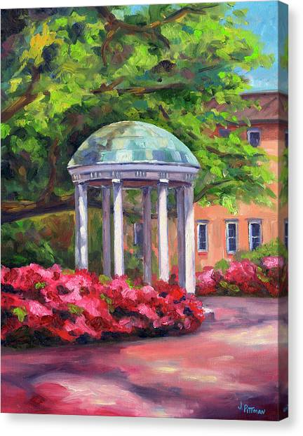Acc Canvas Print - The Old Well Unc by Jeff Pittman
