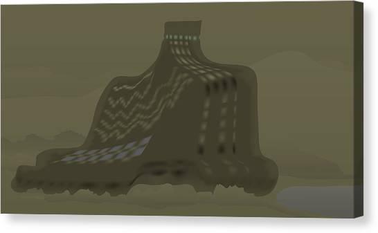 The Olive Citadel Canvas Print