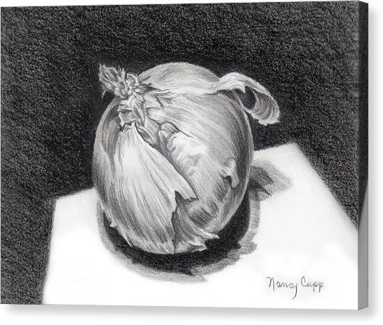 The Onion Canvas Print