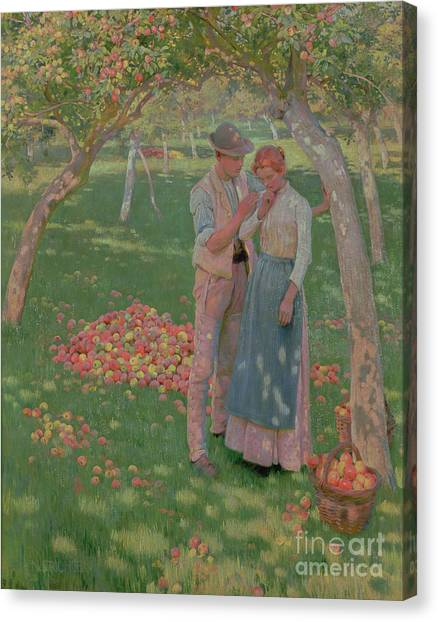 Orchard Canvas Print - The Orchard by Nelly Erichsen