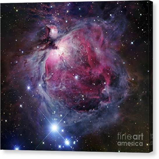 Canvas Print featuring the photograph The Orion Nebula by Robert Gendler