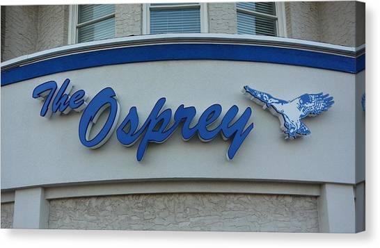 The Osprey Marqee Canvas Print