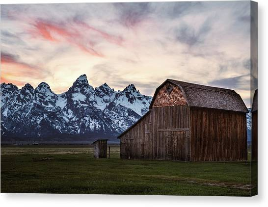 The Other Moulton Barn Canvas Print