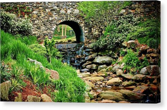 The Other Side Of The Bridge Canvas Print