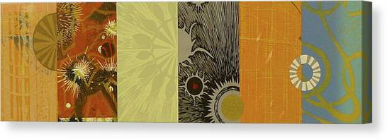 Imaginary Worlds Canvas Print - The Other Side Of The Sky Series I  4 by David Jansheski