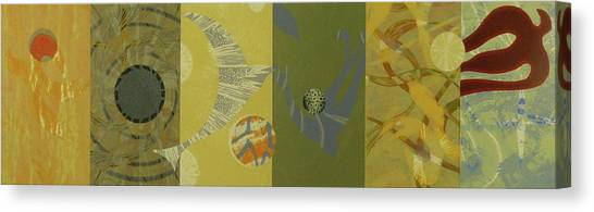 The Other Side Of The Sky Series II 6 Canvas Print by David Jansheski