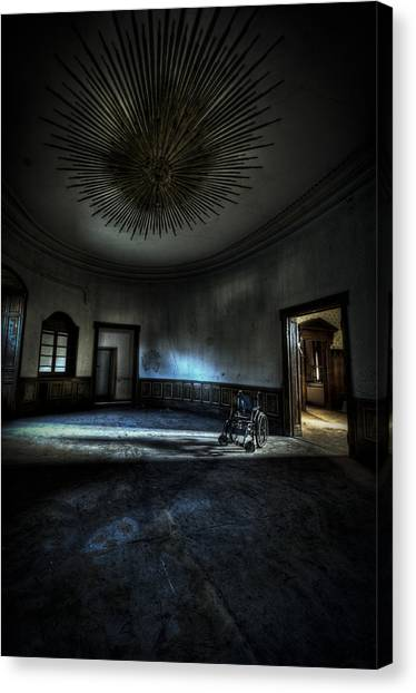 The Oval Star Room Canvas Print