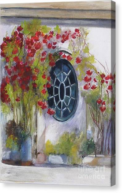 The Oval Window Canvas Print