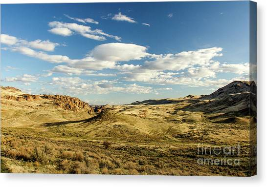 The Owyhee Desert Idaho Journey Landscape Photography By Kaylyn Franks  Canvas Print