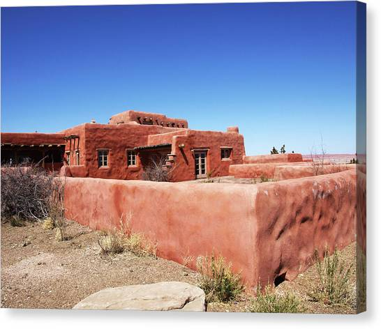 The Painted Desert Inn Canvas Print
