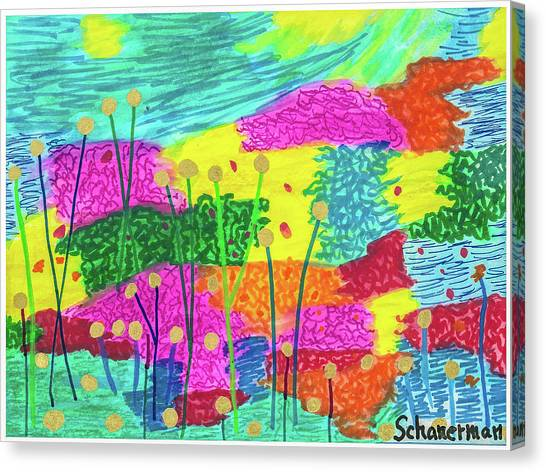 The Painted Desert Redux Canvas Print