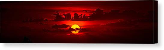 Sunset Horizon Canvas Print - The Painter Of Light by Phil Koch