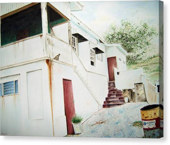 The Painters House Canvas Print by Brian Degnon