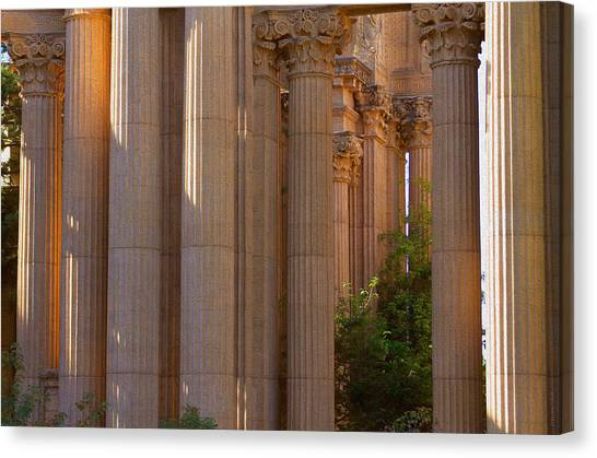 The Palace Columns Canvas Print