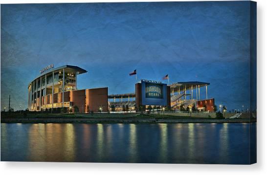 Baylor University Canvas Print - The Palace On The Brazos by Stephen Stookey