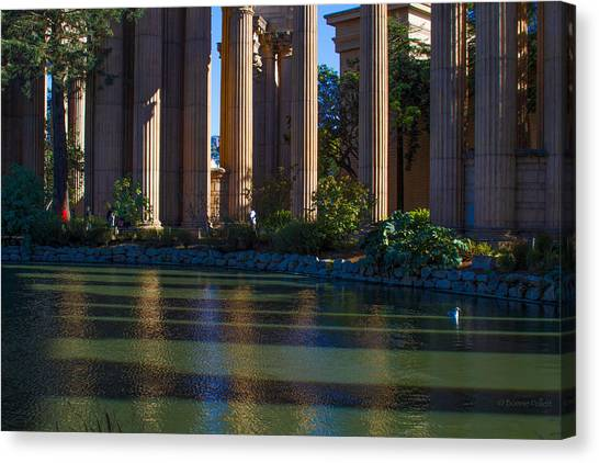 The Palace Pond Canvas Print