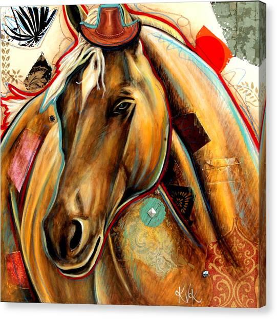 The Palomino Canvas Print