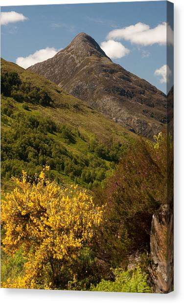 The Pap Of Glencoe Canvas Print