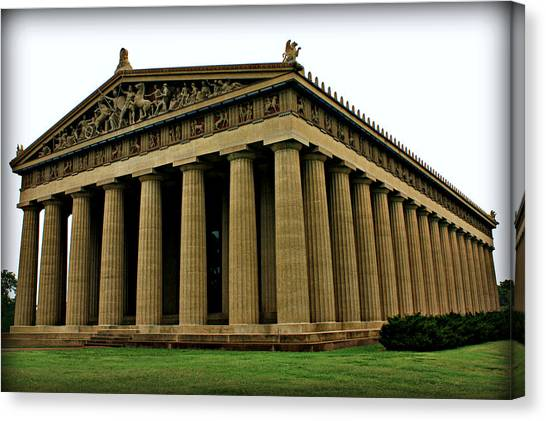 The Parthenon 2 Canvas Print