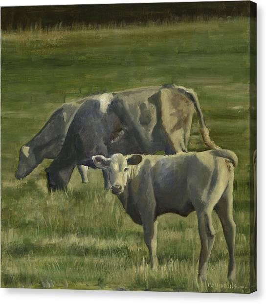 The Pasture Canvas Print