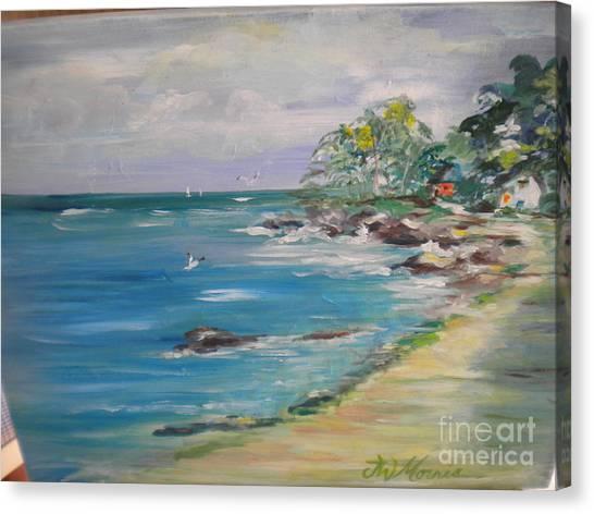 The Path To My Beach House Canvas Print