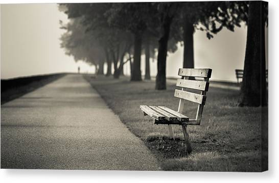 The Path To Rest Canvas Print