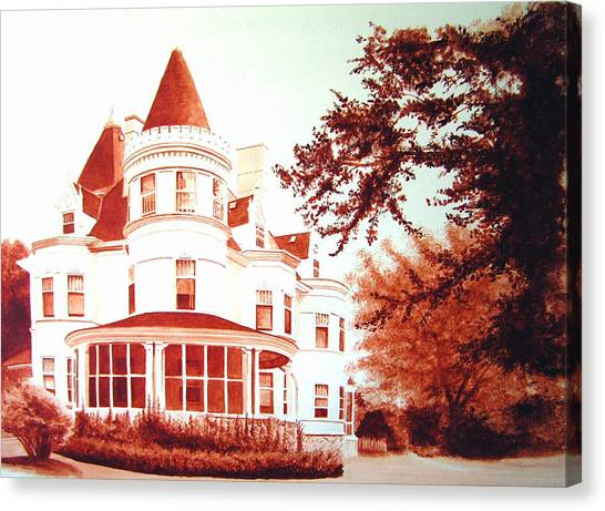 The Patton House Canvas Print