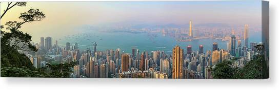 Hong Kong Canvas Print - The Peak by Daniel Chen