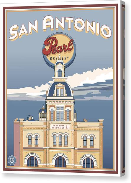 The Pearl Brewhouse Canvas Print