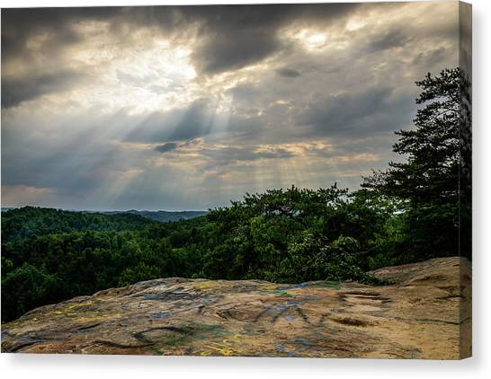 The Peoples Rock Canvas Print