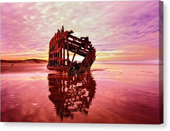 Peter Iredale Fantasy Canvas Print