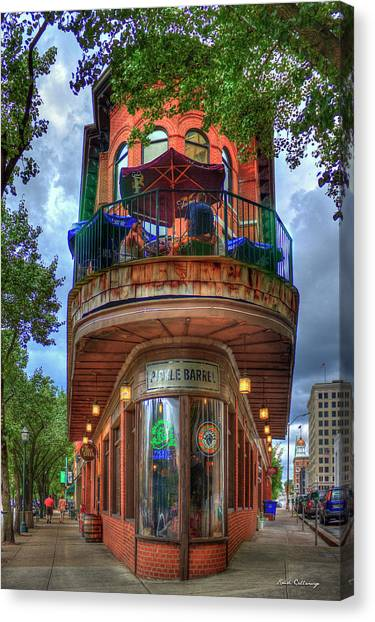 The Pickle Barrel Chattanooga Tn Art Canvas Print