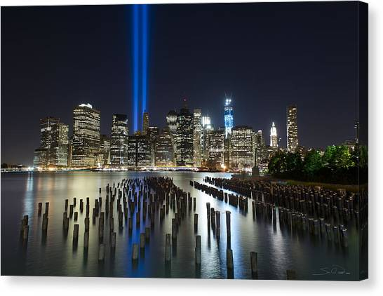 The Pier - World Trade Center Tribute Canvas Print